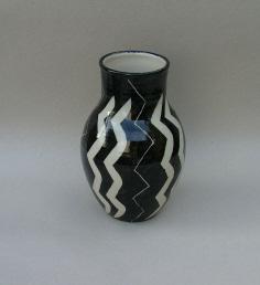 Vase, stentøj, 1994, 19 cm høj