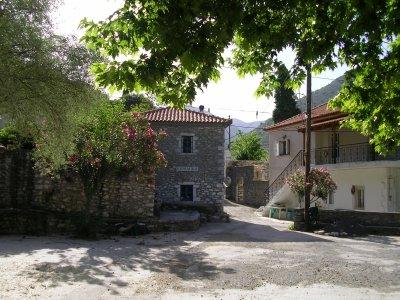 Huset i Kato Chora, Milea.
