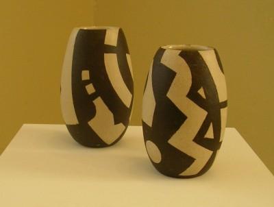 Krukker, steingods, høyde 16 cm, 2008