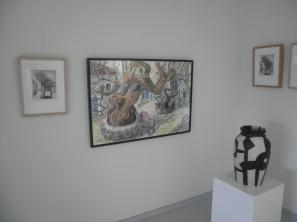 Maleri og trykk, Jan-Kåre Øien, Steintøyskrukke, Idun Storrud.