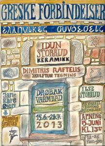 plakat til greske forbindelser