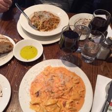 Pasta på Bar Pitti
