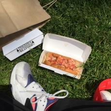 Picnic i Central Park med Lukes lobster-roll