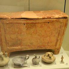 38 larnax, begravelses-kiste